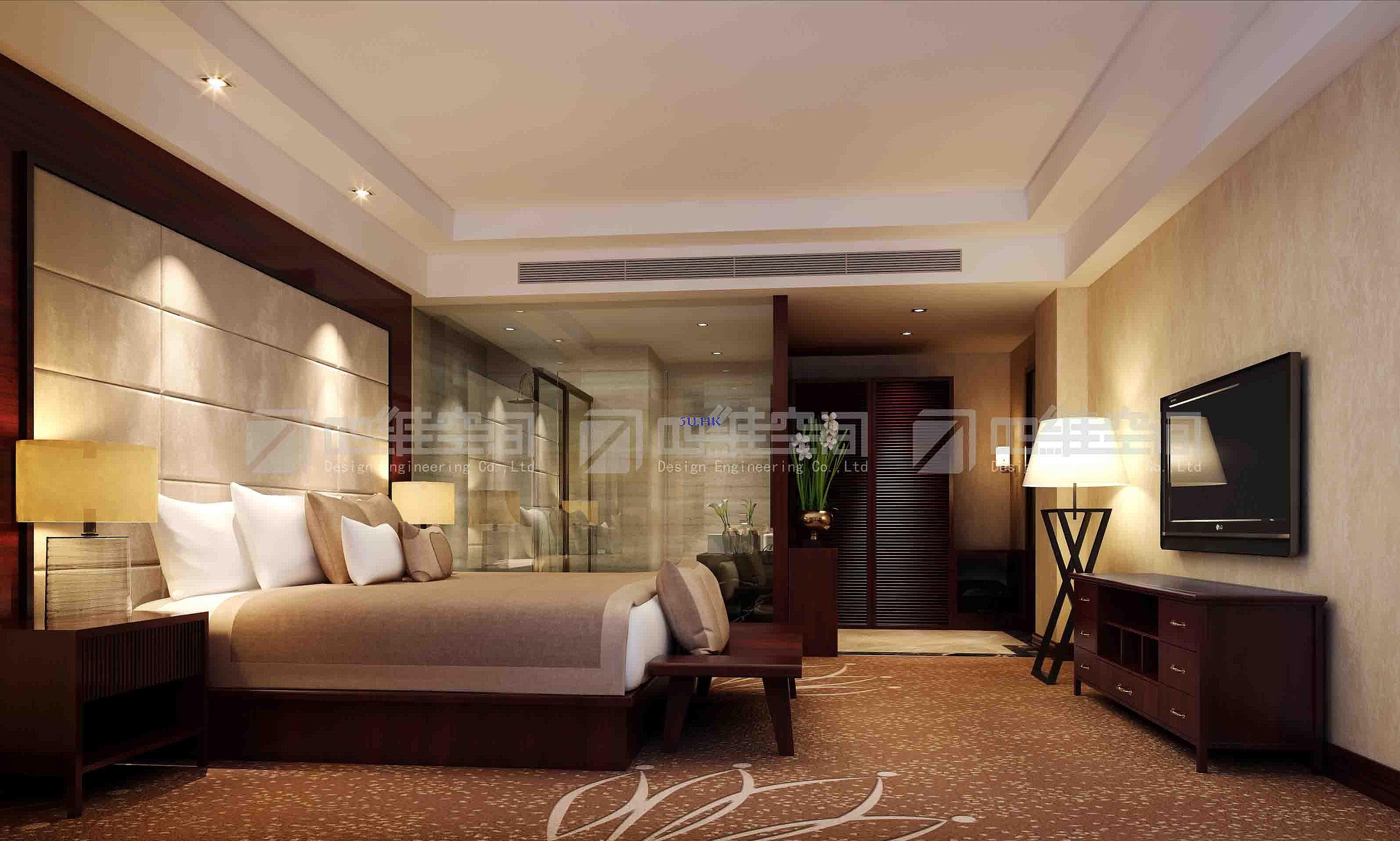 广西皇冠假日酒店 套间 设计方案角度03